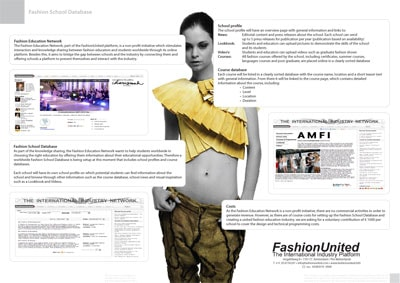 International Fashion School Database online